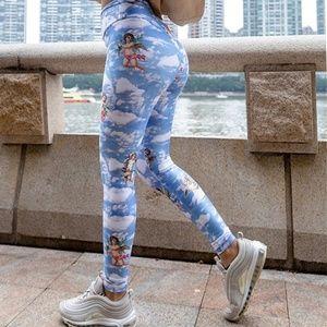 Cherub Sky Yoga Leggings